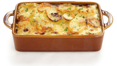 Scalloped Potatoes au Gratin