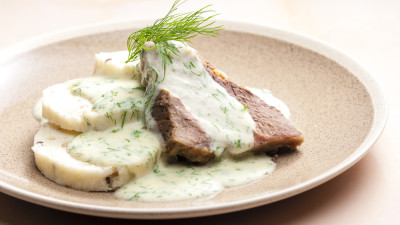 Dill gravy with beef