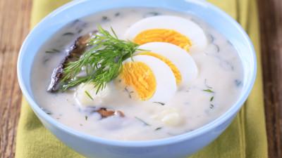 Potato soup with eggs(Kulajda)