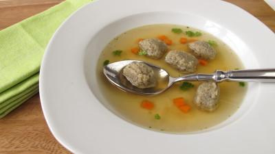 Liver soup dumplings