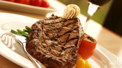 Rib-Eye Steak with Savoury Butter