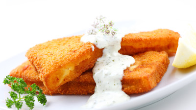 Fried Catfish with Tartar Sauce