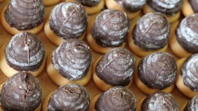 Nut beehives cookies