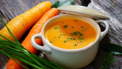 Excellent carrot soup