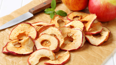 Spiced Apple Crisps