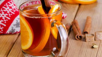 Christmas baked tea