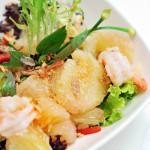 Thailand style pomelo and shrimp salad