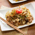 Chinese cabbage with ginger