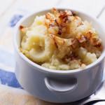 Fresh mashed potatoes