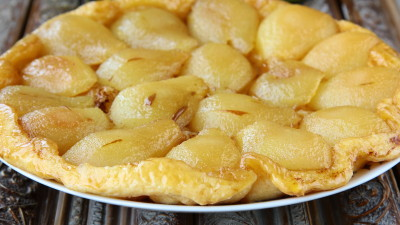 Apple, Pear & Quince Tarte Tatin