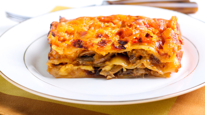 Creamy Courgette Lasagne