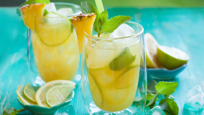 Pineapple, Apricot and Lime Punch
