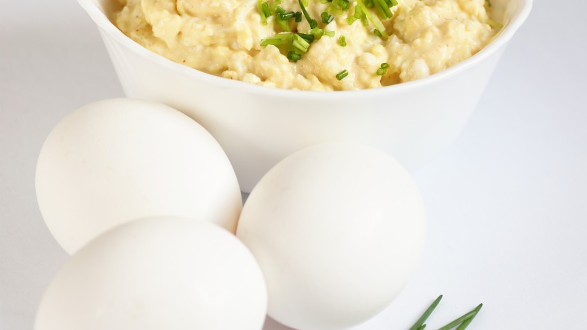 Egg spread with celery