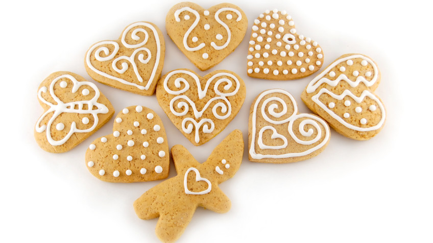 Christmas honey gingerbreads