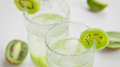 Sparkling Kiwi Lemonade