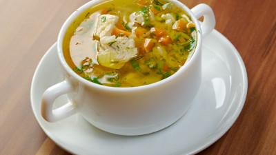 Turkey and Rice Vegetable Soup