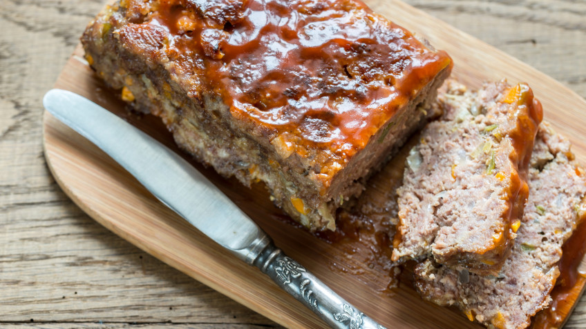 BBQ-Glazed Meatloaf