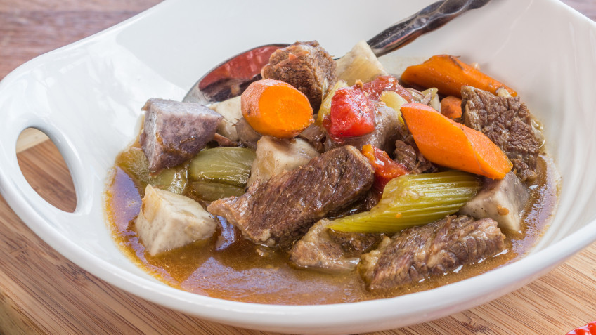 Hawaiian beef stew