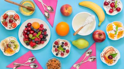 Fruit and nut yogurt