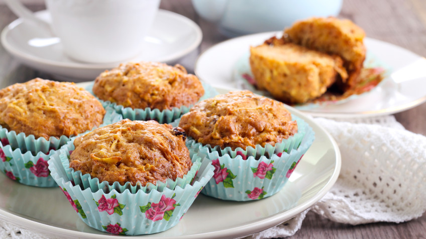 Apple & Sultana Muffins