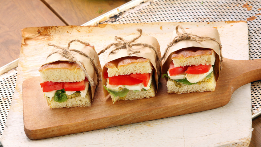 The Ultimate Cheese and Tomato Sandwich