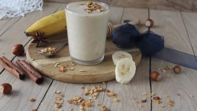 Banana, Honey & Hazelnut smoothie