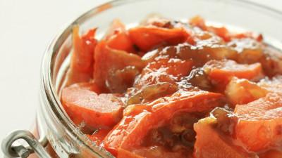 Autumn tomato chutney